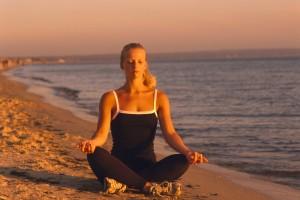 Woman Meditating bxp27179h